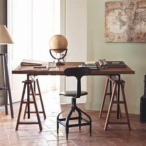 Chaise Vintage Maison Du Monde : chaise noire indus t l graphe maisons du monde office ~ Melissatoandfro.com Idées de Décoration