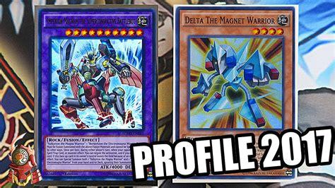 yugioh magnet warrior delta deck profile combos