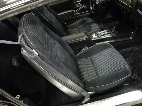firebird trans  custom cloth hobnail seat covers