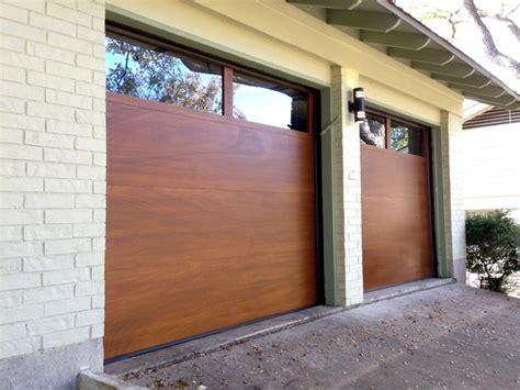 cowart door modern wood garage doors contemporary