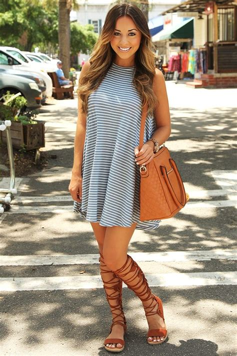 16 Cute Outfits To Wear With Gladiator Heels/Sandals This Season
