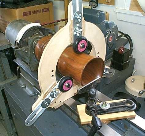 steady rest  wood lathe  wheels tools