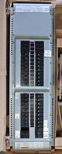 New Cutler Hammer 100 Amp Prl1a Main Breaker Panel 3 Phase