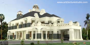 mansions designs 12 000 sq ft luxury indian house design colonial style