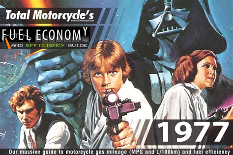 1977 Motorcycle Model Fuel Economy Guide In Mpg And L/100km