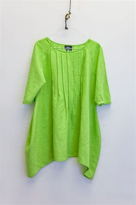lime green blouse casual dress linen shirt blouse lime green by