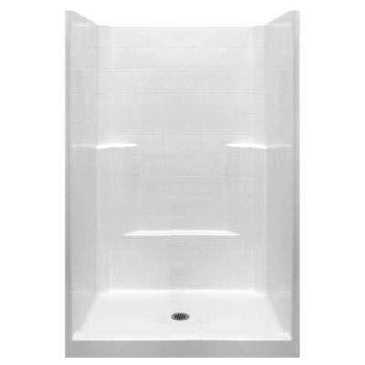 5 Foot Fiberglass Shower by Fiberglass Shower Stalls Kits Showers The Home Depot