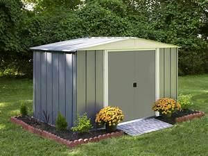 Abri De Jardin Arrow : abri de jardin en acier lm 106 arrow cabanes de jardin ~ Dailycaller-alerts.com Idées de Décoration