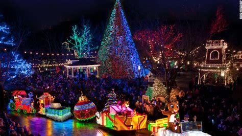 places   christmas lights  dc  las vegas