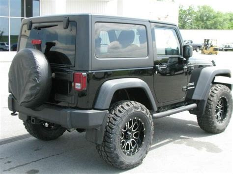 lifted jeep 2 door purchase used lifted 2011 jeep wrangler sport 2 door 3 8l