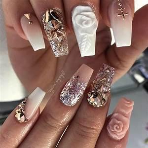 Cute Summer Acrylic Nail Designs Metallic Nail Designs For 2018 Nail Art Ideas Fashionre