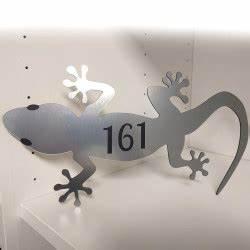 Plaque De Maison Personnalisée : plaque num ro de maison personnalis e originale salamandre ~ Dallasstarsshop.com Idées de Décoration