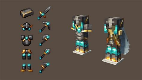 Improved Netherite By Toxteer Minecraft Texture Pack