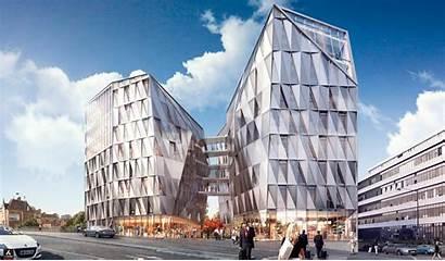 Rennes Quartz Urban Eurorennes Bureaux Egpi Architecte
