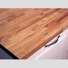 Ikea Eiche Arbeitsplatte Kuche Toom Massivholz Bild Von