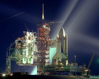 Nasa Space 1981 Shuttle Pad Columbia Sts