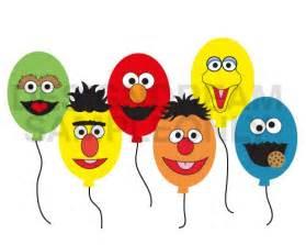 Sesame Street Printable Faces