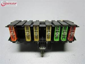 Fuse Box 9636079380 Citroen C5  Rc   1 8 16v