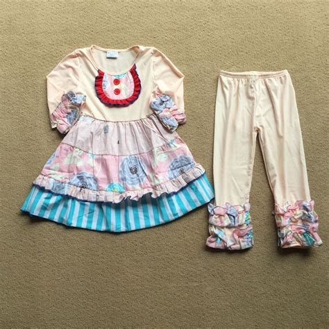 baby girl dress joint design fall cotton clothing pants