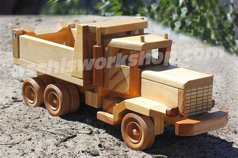 woodwork toy truck plans wood  plans
