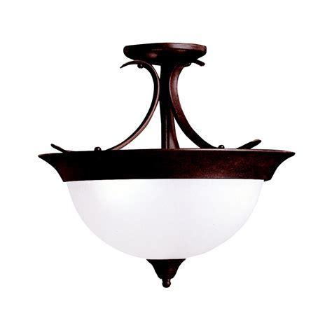 Dover 3 Bulb Semi Flush Ceiling Light Tz