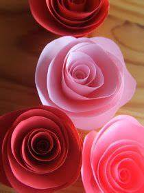 Rosen Aus Papier : rosen aus papier kreativ pinterest ~ Frokenaadalensverden.com Haus und Dekorationen