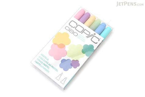 copic ciao marker  color set pastels jetpenscom