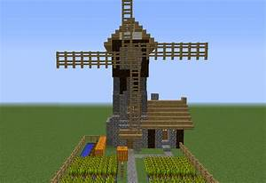 Medieval Windmill Farm House - GrabCraft - Your number one ...