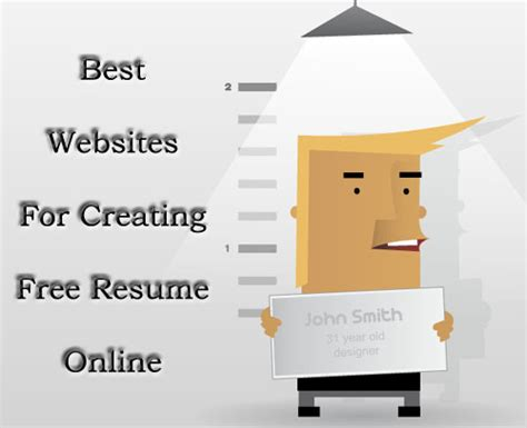 Create Resume Website Free by 3 Best Websites To Create Appealing Resumes For Free