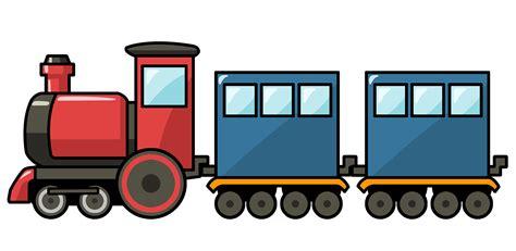Free Cute Cartoon Train Clip Art