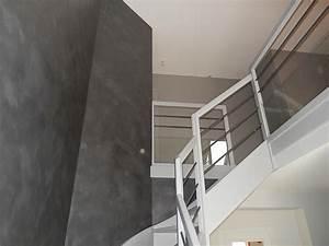 peinture cage escalier maison 20170722212917 arcizocom With superb idee couleur escalier bois 4 cage descalier 20 idees deco pour un bel escalier