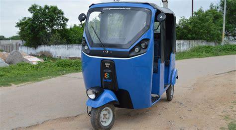 Electric Auto by Eshaft Electric Passenger Auto Rickshaw Lead Acid