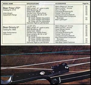 Bear Super Magnum 44 Compound Bow Manual