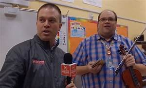 FEEL GOOD FRIDAY: We surprise a violin teacher and his ...