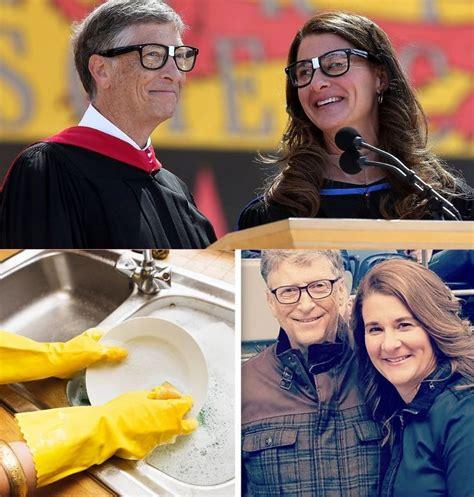 World's richest man Bill Gates still washes dishes with ...