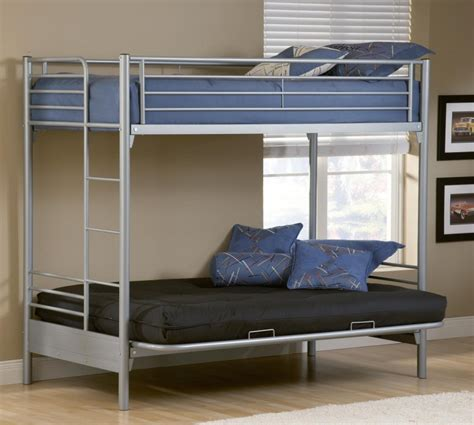Bunk Bed With Futon by Bedroom Endearing Secret Loft Bed With Futon For Bedroom