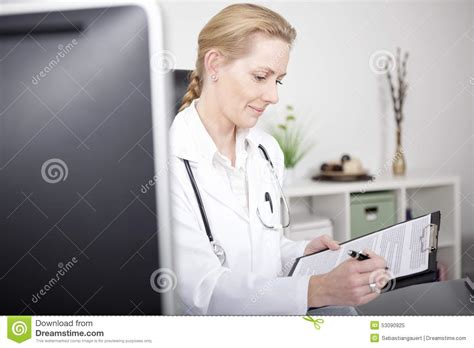 Diagnosis On Paper Icon, Black Monochrome Style Cartoon