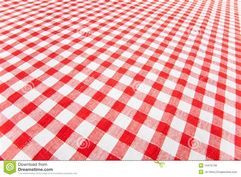 Tischdecke Kariert by Checkered Tablecloth Stock Photo Image Of Cloth Table