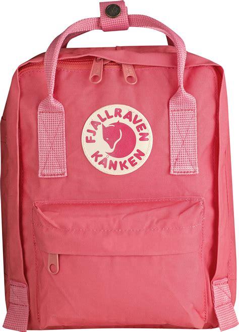 fjaellraeven kanken mini sac  dos enfants rose rouge