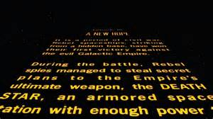 Words Of Wisdom For Baby Shower by Create Your Own Star Wars Opening Crawl