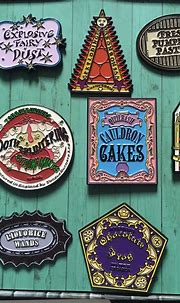 Honeydukes Candy Pin Set | Numskull Pins| Harry Potter ...