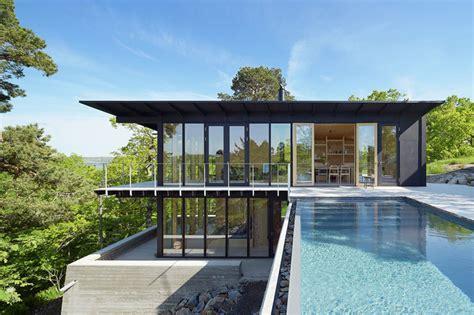 Maison Design Avec Piscine De Andreas Martinlöf