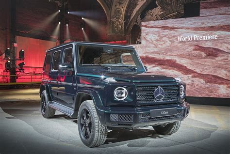 Mercedes G Klasse 2018 by Weltpremiere Der Neuen Mercedes G Klasse F 252 R Alles G Wappnet