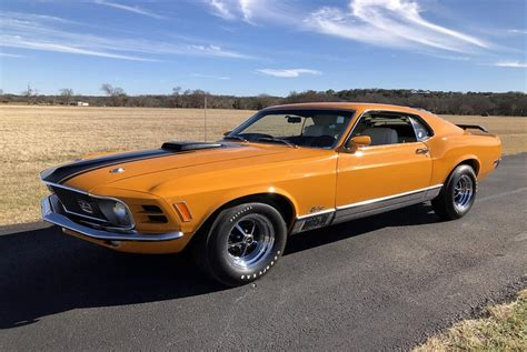 Mustang Cobra Jet Logo by 1970 Ford Mustang Mach1 Cobra Jet For Sale 2958 Motorious
