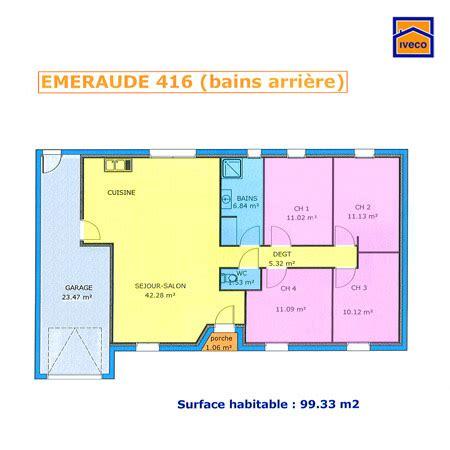 maison plein pied 4 chambres plans de construction sur l 39 immobilier en neuf maison pavillon