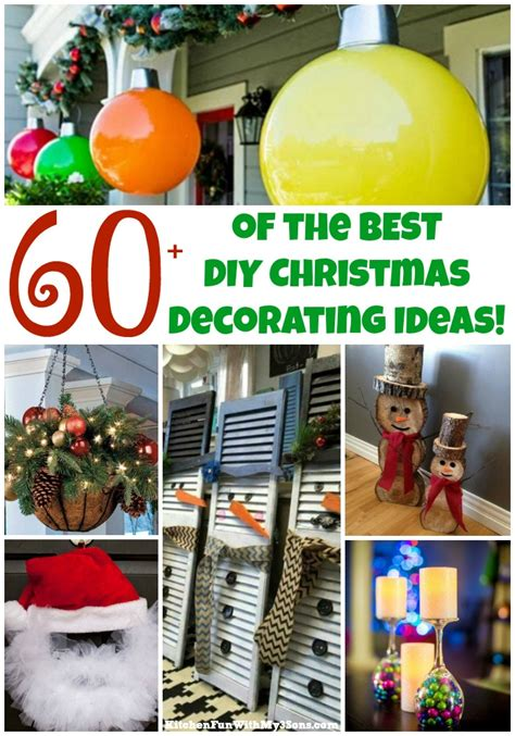 diy christmas decorations kitchen fun