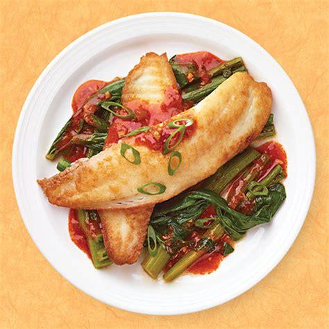 Glutenfree Chili Garlic Fish With Tom Tom Sauce Wegmans