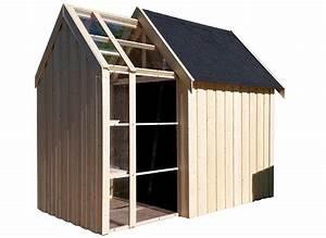 Abri De Bois : abri de jardin bois vertigo serre 28 mm 5 34 m jardideco ~ Melissatoandfro.com Idées de Décoration