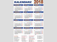 Kalendarz na 2018 rok do druku pdf Edukacyjne bajki do