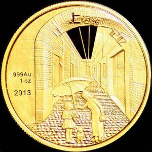 2013 1 oz China Gold & Silver Shanghai Ghetto Memory Panda ...